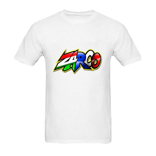 T-shirt Johann Zarco avec son logo blanc