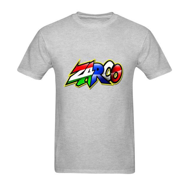 T-shirt Johann Zarco avec son logo gris