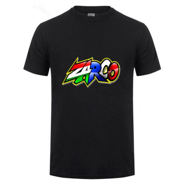 T-shirt Johann Zarco avec son logo noir